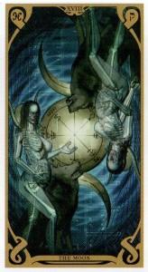 18 Аркан Луна  Таро Ночного Солнца Фабио Листрани