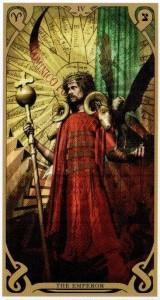 4 Аркан Император  Таро Ночного Солнца Фабио Листрани