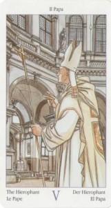 5 Иерофант Жрец из Таро Казанова