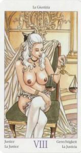8 Правосудие из Таро Казанова