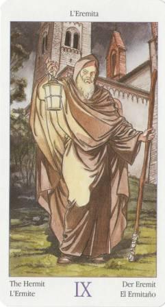 9 Отшельник из Таро Казанова